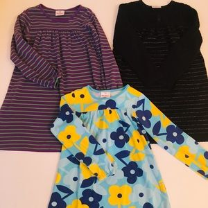 Hanna Anderson Dress Bundle, Size 8 (130)
